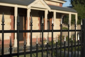 Custom Tubular Fencing with Spears