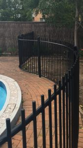 Curved Tubular Fencing
