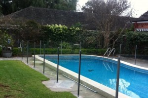Frameless Glass Pool Fence