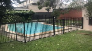 Flat Top Swimming Pool Fence Adelaide