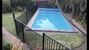 Custom Flat Top Fencing Panels for Swimming pool compliance