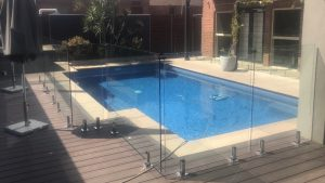 Frameless Glass Pool Fencing Tranmere