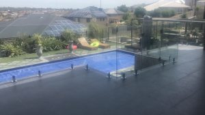 Frameless Glass Pool Fencing at Sheidow Park