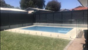 Fully Frameless Glass Pool Fencing is classy