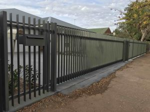 Wide Span Sliding Driveway Gate Adelaide